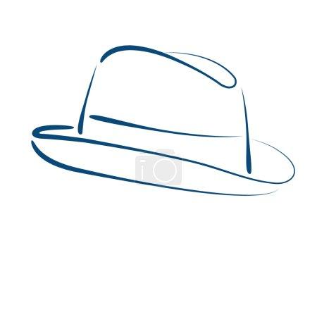 Fedora trilby hat.