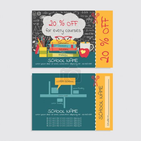 Discount  voucher template