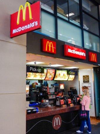 Mc Donalds Resturant in St