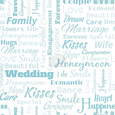 Wedding Seamless Pattern