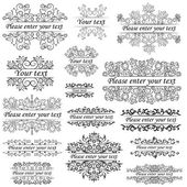 Group objects ornaments and beautiful frames in ethnic style an