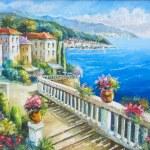 Original oil painting on canvas...