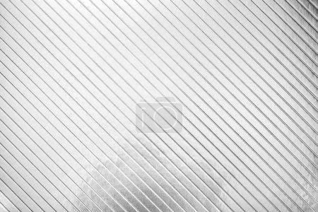 Photo pour Texture de papier de carton métallique, fond argenté - image libre de droit