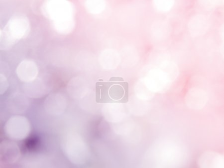 Blurring the pattern of light is beautiful bokeh background