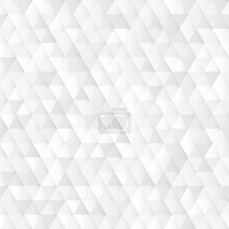 Photo pour White seamless geometric texture interior polygonal wall panel pattern. - image libre de droit