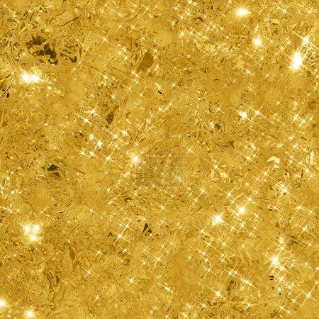 Foto de Fondo abstracto de oro con espacio de copia. Antecedentes de oro brillo. Textura brillante oro. - Imagen libre de derechos