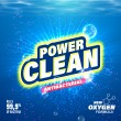 Laundry detergent package design. Toilet and bathr...