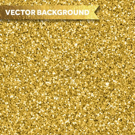 Vector gold glitter texture background...