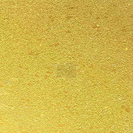Illustration pour Texture vectorielle abstraite en feuille d'or - image libre de droit