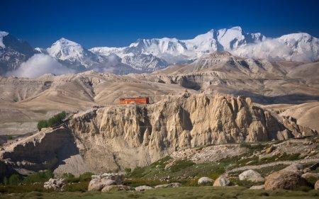 Monastery in Himalayas