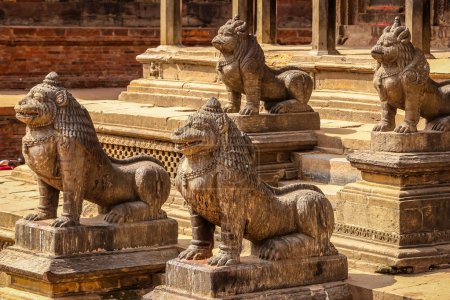 Lions at temple