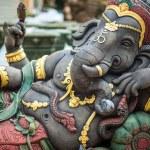 Ganesh statue in indu temple, India...