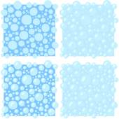 Vector illustration Blue water bubbles abstract background
