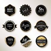Exquisite labels set