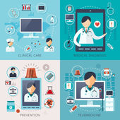 telemedicine concept collection