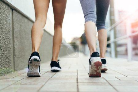 Athletic women Jogging