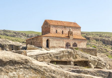 ancient orthodox church in antique cave