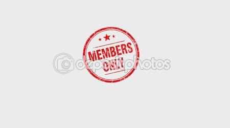 Ruční lisy razítka pouze pro členy