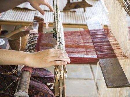 Weaving silk 5