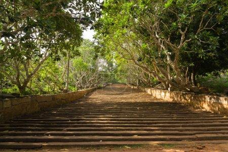 Mihintale Stairway