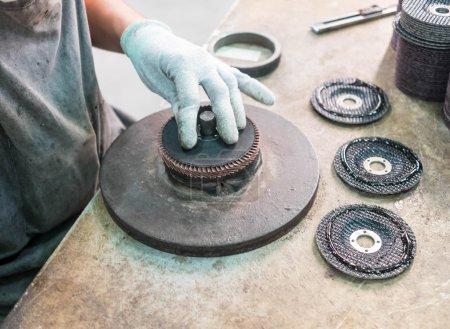 abrasives disc manufacturing