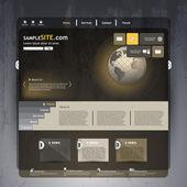 Návrh šablony webové stránky