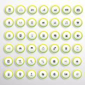 Trendy Web UI buttons