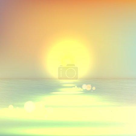 Soft light summer background