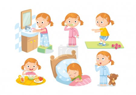 daily routines for kids