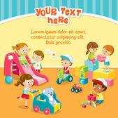 children's activity in kindergarden