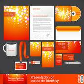 Presentation of corporate identity