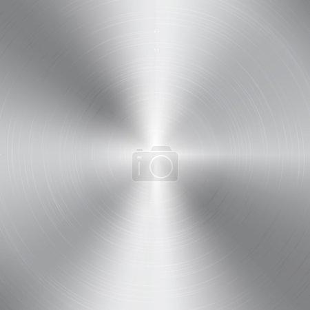 High contrast  aluminum texture