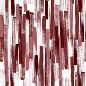 Seamless vector pattern made by hand drawn thin paint strokes In deep red color