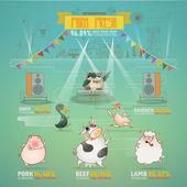 Farm Fresh Infographics