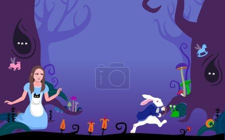 Wonder Forest ( Alice in Wonderland)
