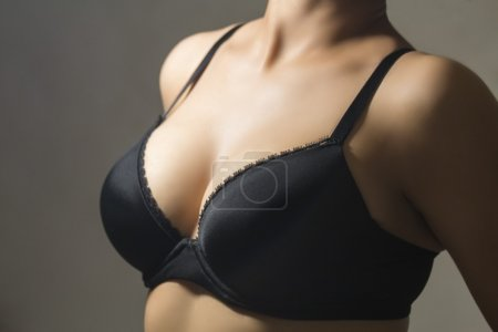 beautiful woman with brassiere