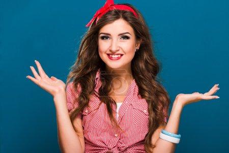 Lovely brunette girl