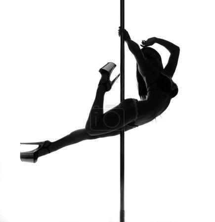 girl pole dance