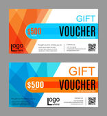 Voucher Gift certificate Coupon template Floral scroll pattern Background design for invitation ticket cheque Black gold vector