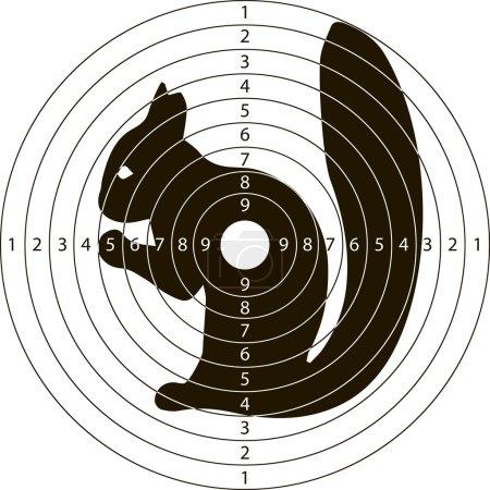 target shooting squirrel