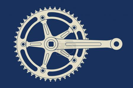 Vintage track chainring...