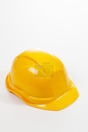 Single yellow hardhat