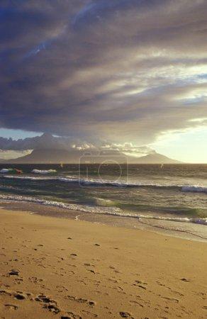 Photo pour Afrique du Sud, Capetown, plage - image libre de droit