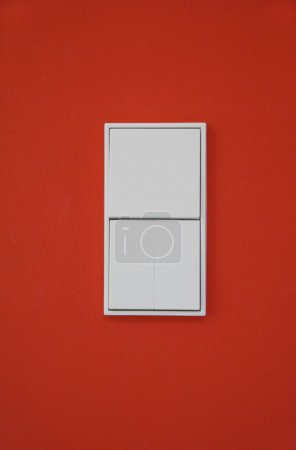 Germany,Upper Bavaria,Munich,Light switch on wall of new house