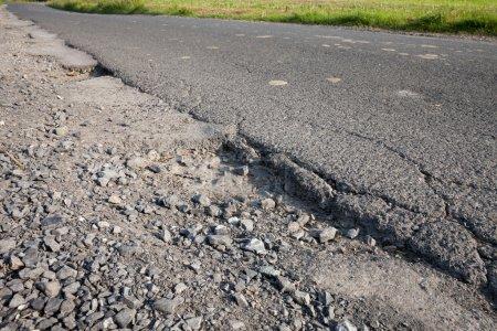 Germany, road, apshalt, pothole