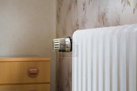 Photo pour Appareil de chauffage, thermostat - image libre de droit