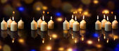 Four candles, advent time