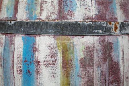 Tonneau en bois, de couleur