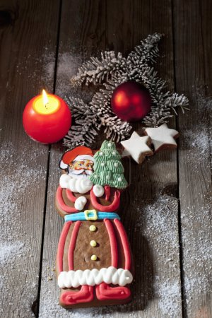 Christmas gingerbread sweet