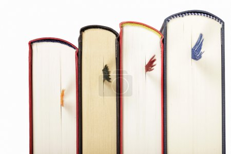 Color books with bookmarks